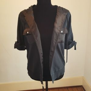 Fabulous Liz Claiborne black 3/4 sleeve jacket